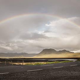 South Iceland rainbow by RicardMN Photography