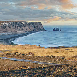 South Icelandic Coastal View by Joan Carroll