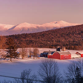 South Kirby Winter Evening by Tim Kirchoff