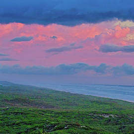 South Padre Island Sunrise by Cathy P Jones