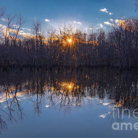South Santee River Sunset by Norma Brandsberg