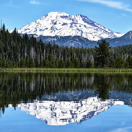 South Sister Reflection by Dana Hardy
