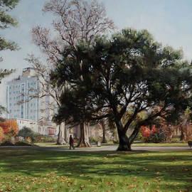 Southampton East Park in autumn