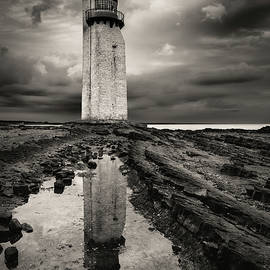 Southerness Lighthouse by Dave Bowman
