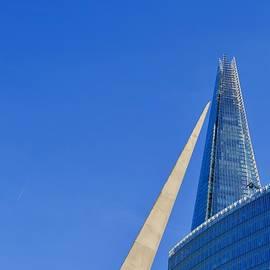 Southwark Gateway Needle and the Shard by Joe Vella