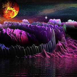 Space Adventures Crater Lake by Artful Oasis