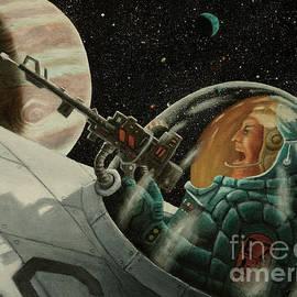 Space warrior by Ken Kvamme