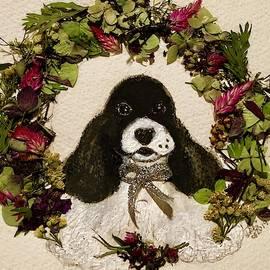 Spaniel Greetings  by Debra Lampert-Rudman
