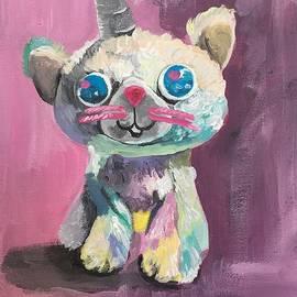 Sparkle Kitty by Danielle Rosaria
