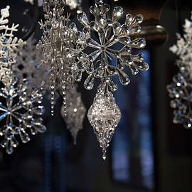 Sparkling Snowflakes by Yvonne Wright