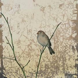 Sparrow in Sepia II by Carolyn Doe