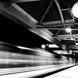 Speeding train at Nottingham station by Neale And Judith Clark