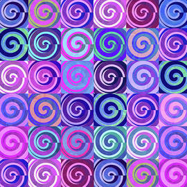 Spinning Circles illusion by Grace Iradian