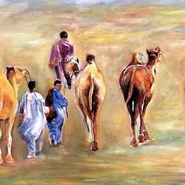 Spirit of desert.1 by Khalid Saeed