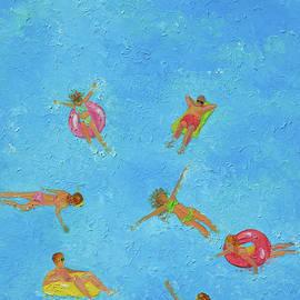 Splash, swimming fun 2 by Jan Matson