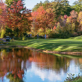 Splendid day for golf by Claudia M Photography