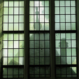 Spooky Window by Maria Meester