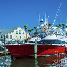 Sport Fishing Yacht by Tony Baca