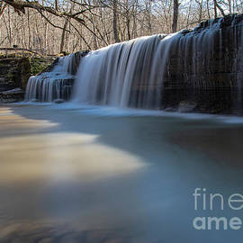 Spring Afternoon Hidden Falls Nerstrand Big Woods State Park Minnesota by Wayne Moran