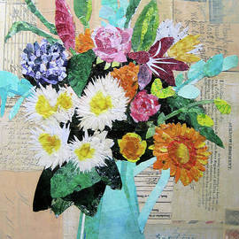 Spring Bouquet by Diane Marcotte