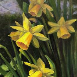 Spring Daffodils by Anne Barberi
