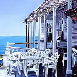 Spring House, Block Island by Nathan Katz