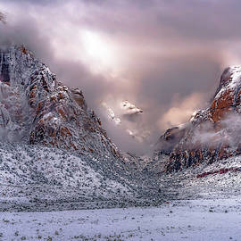 Spring Mountain Snow by Chuck Jason