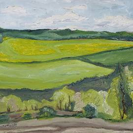 Spring On The Valley by Francois Fournier