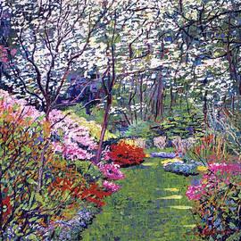 Spring Park Impressions by David Lloyd Glover
