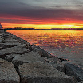 Spring Point Dawn by Paul Noble
