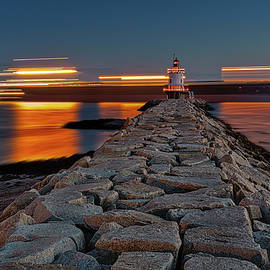 Spring Point Ledge Light by Susan Candelario