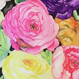 Spring Rose Elegance by Laurel Adams