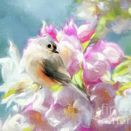 Spring Titmouse by Tina LeCour