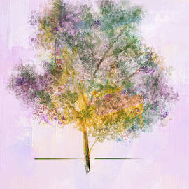 Spring Tree by Mary Timman