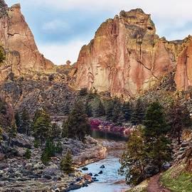 Springtime at Smith Rock by Dana Hardy