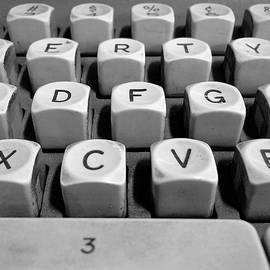 Square Key Keyboard Detail