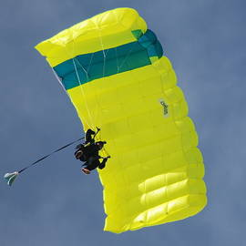 Square Parachute by Neil R Finlay