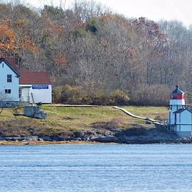 Squirrel Point Lighthouse by Catherine Gagne