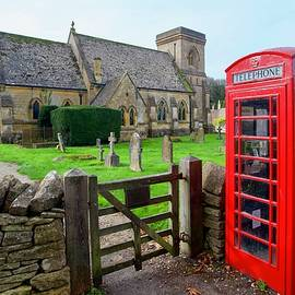 St. Barnabas Church, Snowshill, Gloucestershire, England. by Joe Vella
