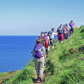 St. Bees Head Walk by Andrew Wilson