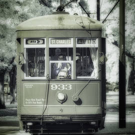 St. Charles Streetcar Infrared by Jerry Fornarotto