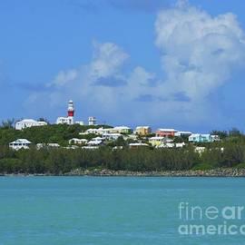 St. David's Island From Cooper's island, Bermuda by Marcus Dagan