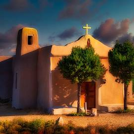 St. Francis de Assisi Adobe Church by Stephen Anderson