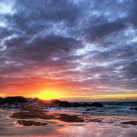 St Ives Sunset by Paul Thompson