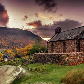St James Church, Buttermere, Cumbria UK by Maggie Mccall