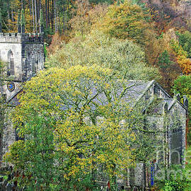 St. John's church at Cragg Vale, Yorkshire by David Birchall