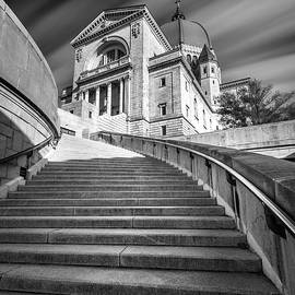 St Joseph Oratory in Montreal In Black and White by Pierre Leclerc Photography