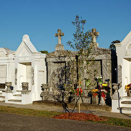 St. Louis #3 Cemetery New Orleans by Sally Weigand