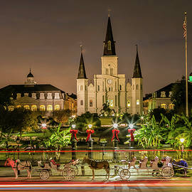 St. Louis Cathedral by Jurgen Lorenzen