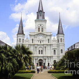 St. Louis Cathedral - New Orleans by Dora Sofia Caputo